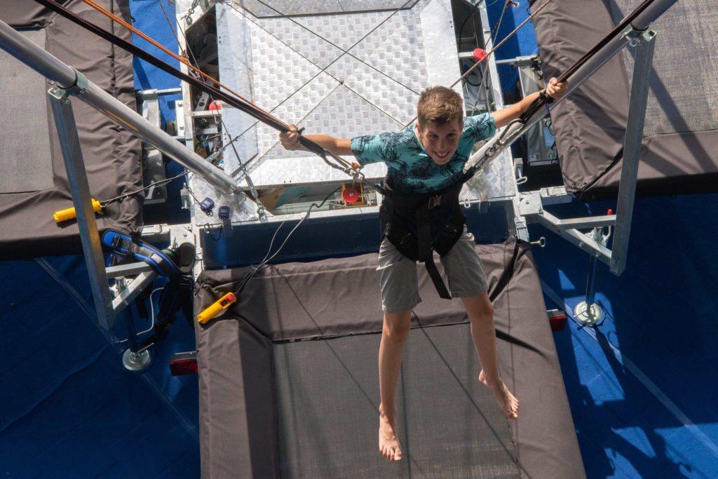 trampolin najem